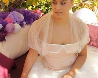Bridal wrap , bridal shawl , ivory wrap,
