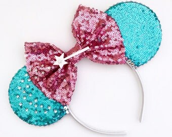 The Godmother - Handmade Mouse Ears Headband