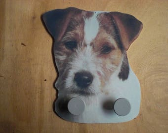 JACK RUSSELL DOG WALL RACK