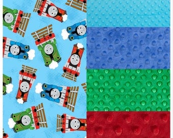 Thomas The Train Blanket Etsy