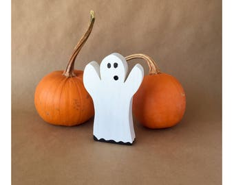 wooden ghost halloween decor cute halloween decor halloween home decor kids halloween - Cute Halloween Decor
