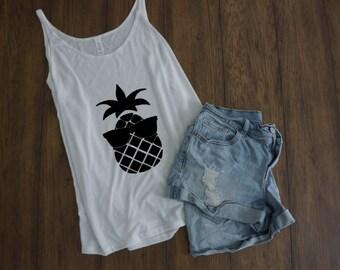 Cool Pineapple - Women's Slouchy tank