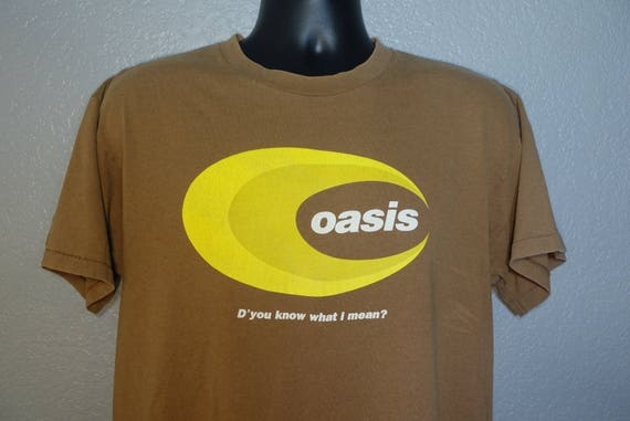 90's Oasis - D'you Know What I Mean? Vintage Concert T-Shirt