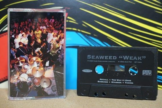Weak by  Seaweed Vintage Cassette Tape