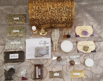 Witches Spell Supply Box/Altar Kit