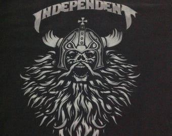 Sale ! Vintage 90s Independent Truck Company Skateboard T Shirt/Punk/Streetwear/Thrash