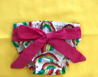 Tie up nappy cover/diaper cover boy/girl