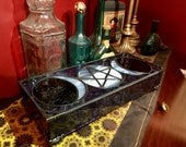 Triple Goddess - Stained Glass Box