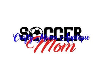 Soccer Mom SVG, PNG, JPG files