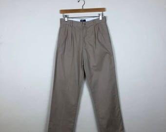 Vintage Polo by Ralph Lauren Pants Size 27, 90s Polo Khakis, Ralph Lauren Khakis