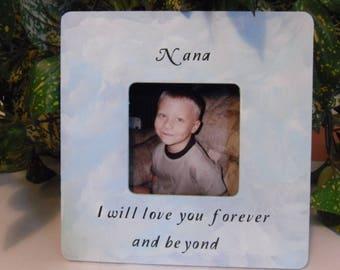 Nana frame, Nana Keepsake frame, Nana Keepsake gift, Nana gift, Grandma frame, Grandma gift, Nana photo frame, Nana Christmas gift.