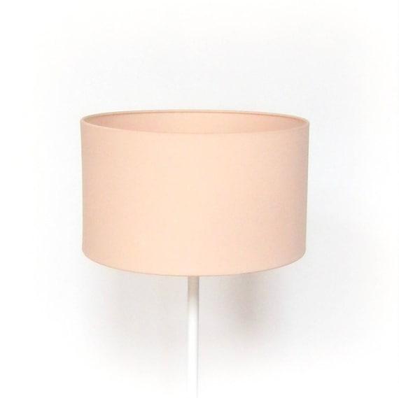 abat jour rond uni rose pastel pour pied de lampe lampadaire. Black Bedroom Furniture Sets. Home Design Ideas