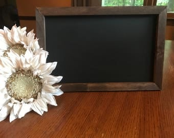 Medium Chalkboard Easel/ Wood Chalkboard Easel/ Wedding Signs/ Medium Sized Chalkboard Easel Display/ Wood Easel/ Rustic Easel/Wedding Decor