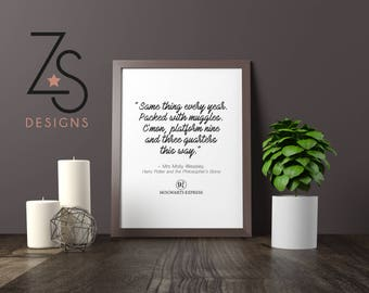 Molly Weasley - Harry Potter - A4 Printed Film Quote