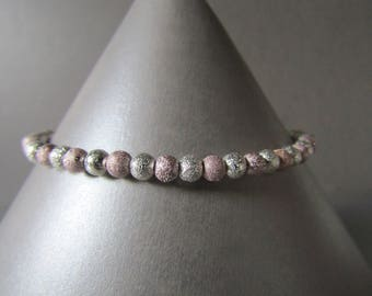 Slim Dainty Friendship, Surfer Stacker Stardust Bead Bracelet Very Nice Gift!!