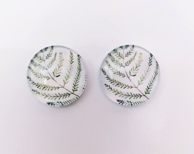 The 'Thea' Glass Earring Studs