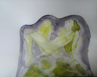 Original illustration ***  Fairy woman illustration