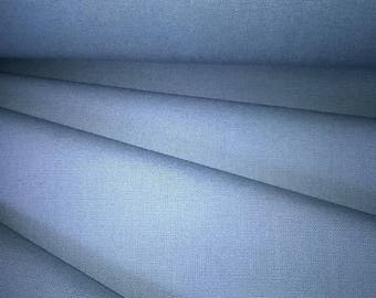 CANVAS 100% cotton medium gray color width 140cm