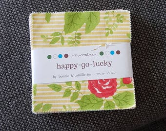 Happy Go Lucky charm pack 5inch