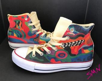 Colorful Custom Converse