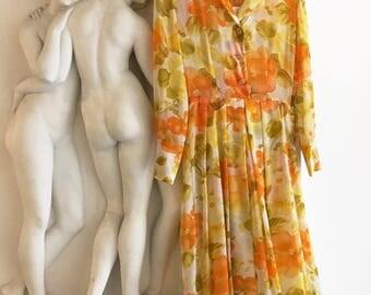 RESERVED: Yellow summer dress
