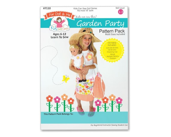 Learn To Sew Craft Patterns for your child to sew fits american girl ...