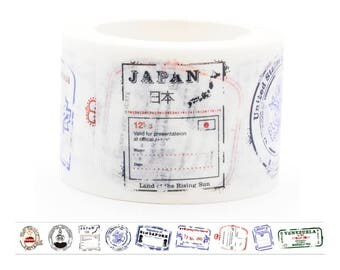 Country Stamps Washi Tape