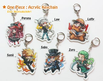 One Piece - Acrylic Keychain