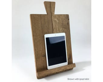 Wooden Tablet Stand IPad Stand Oak Ipad Stand Best Tablet Stand