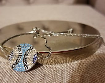 Christmas gift  Bracelet Hand Made cubic zirconium diamond