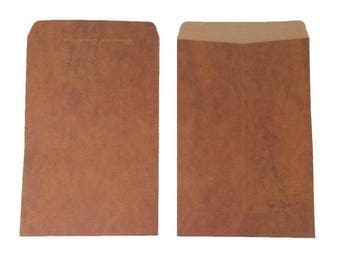 "10PCS Old Style Retro Vintage Paper Envelopes 4X8"" Brown Kraft C6 Envelopes - Gift, Business, Favors, Baking Packaging"