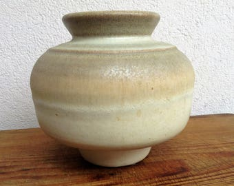 Vintage 60-70's STEULER Keramik 849/16 Vase West German Pottery Art Fat Lava Era