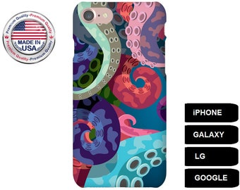 Octopus Phone Case, Phone Case Octopus, Octopus iPhone Case, Octopus Galaxy Case, Octopus Google Pixel Case, Protective Phone Case,Galaxy S6
