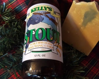 Spiced Wintery Pine Beer Soap