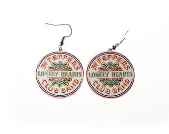 The Beatles SGT. Pepper earrings