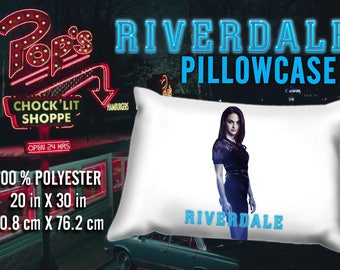 Riverdale Veronica Lodge  Camila Mendes Pillowcase