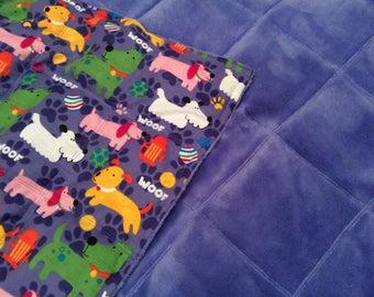 Weighted Puppy Dog Blanket