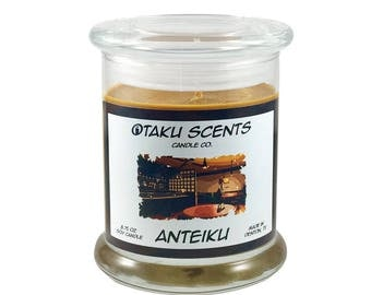 8.75 oz Scented Soy Anime Candle