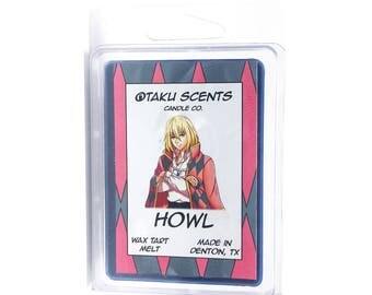Howl - Scented Soy Anime Wax Melt Tart - Howl's Moving Castle