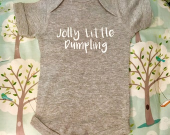 Jolly Little Dumpling Baby Onesie