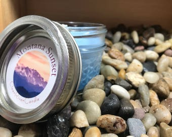 Montana Sunset scented candle
