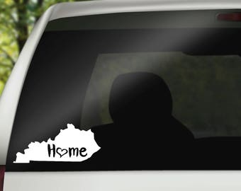 Kentucky Decal, State Decal, Home Decal, State Car Decal, Laptop Decal, Tumbler Decal, Home Car Decal, Vinyl Decal, Water Bottle Decal