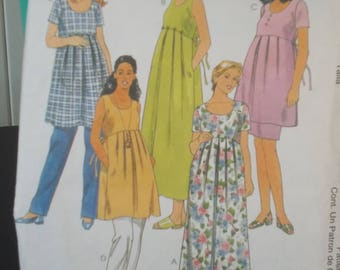 maternity dress or top pattern