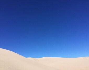Sand Dunes Print