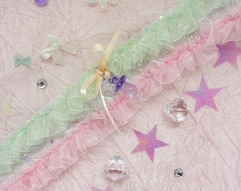 Dreams of Frilly Baby Paci Choker