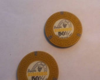 Binions Horseshoe Casino chips