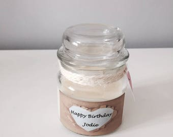 Personalised Candle Gift / Favour