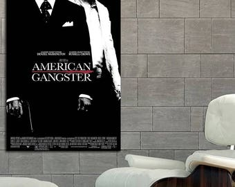 Poster Mural American Gangster printed on 8 Mil Paper #03