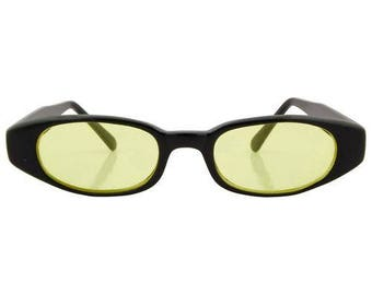 Black and Yellow Vintage Sunnies