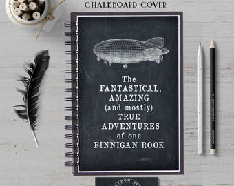 Custom Notebook, Personalized Journal, Adventure Notebook, Custom Journal, Writer Journal, Hardcover, Bullet Journal, Spiral Notebook